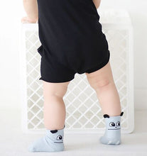 New Spring Baby Socks Newborn Cotton Boys/Girls Cute Toddler Anti-slip Socks