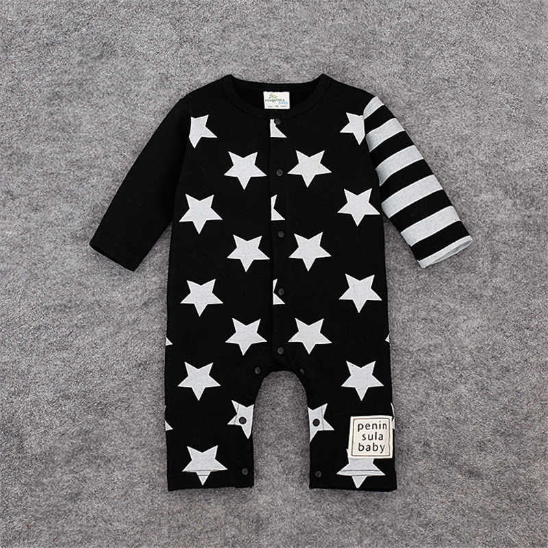 Star Romper Spring Fashion Newborn Baby Boy/Girl Clothes