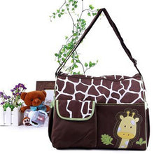 Multifunctional Shoulder Animal print DIaper Bag