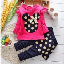 Spring 2pcs Top+ Pant Toddler Children Clothing Sets
