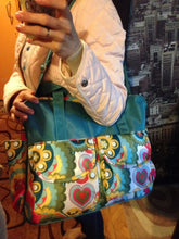 Large Capacity multicolored Baby Diaper/maternity Bag