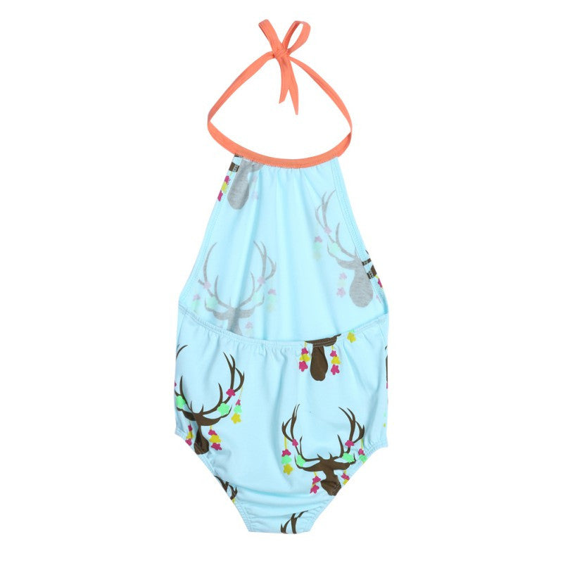 Kids Bathing Suit Beachwear 3-24M Newborn Girls Baby Swimwear Swimsuit