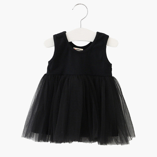Touchcare Sleeveless Newborn Baby Girl Dress Lace Princess Vestidos