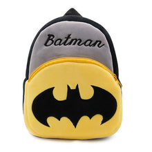 Top Quality Spiderman, Batman, Minion, Pink Hello Kitty Plush Cartoon Toy Children Backpack For Kids Age 1-2