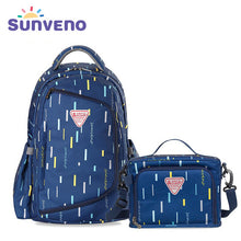 SUNVENO Waterproof Diaper Bag Organizer Multifunctional Maternity Bag with Small Bag Inside