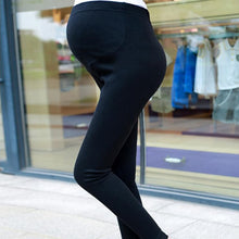 ZTOV Spring Autumn Cotton Maternity Leggings with High Waist