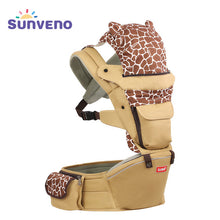 Sunveno Baby Carrier Four Seasons Multifunctional Baby Waist Stool Slings for Baby 0-36M