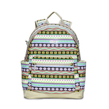 Multifunctional Baby Diaper Bag Backpack Canvas Large Capacity Mommy Bag Backpack