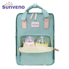 SUNVENO Diaper Bags Large Capacity Nappy Bag Multifunctional Backpack