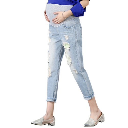 Maternity Pants/Denim Jeans Pregnant Women Clothes Pregnancy Clothing