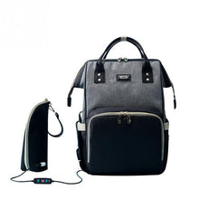 Fashion Diaper bags/Backpack with USB bottle warming bag
