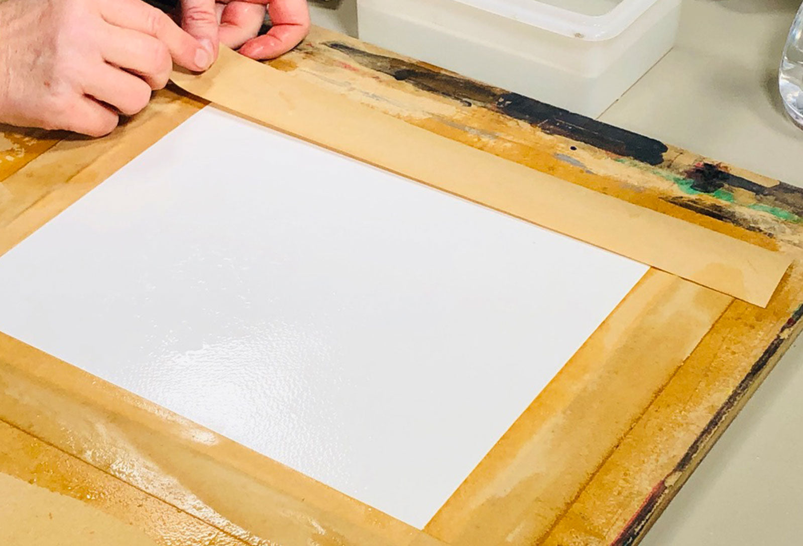 Watercolour Paper Guide and How to Stretch Watercolour Paper