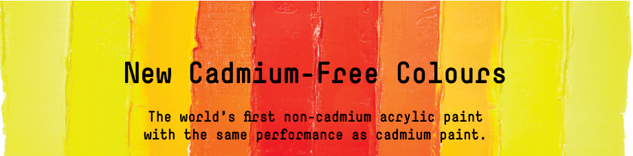 Liquitex Heavybody (Cadmium Free Range) - Product of the Month