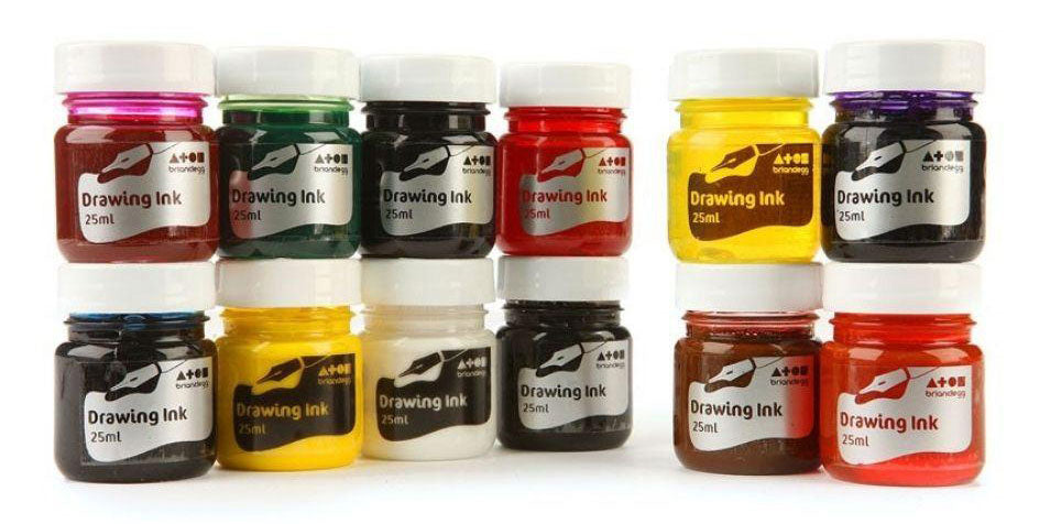 Brian Clegg Assorted Drawing Ink Set