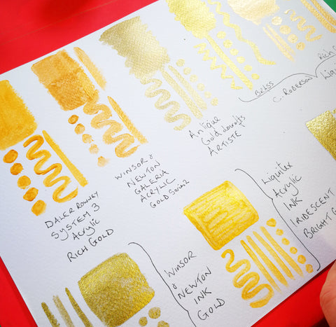 which gold is gold? paint