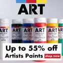 ARTdiscount Artists Paints Banner