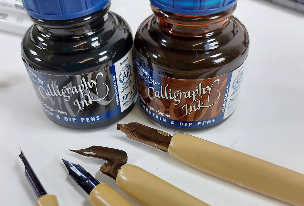 Calligraphy-ink