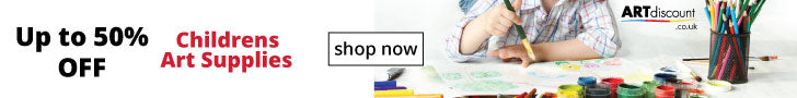 ARTdiscount Childrens Art Supplies Banner