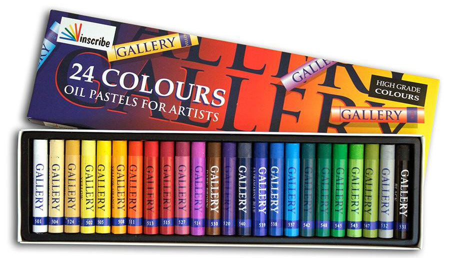 Gallery Oil Pastels Set of 24 Assorted