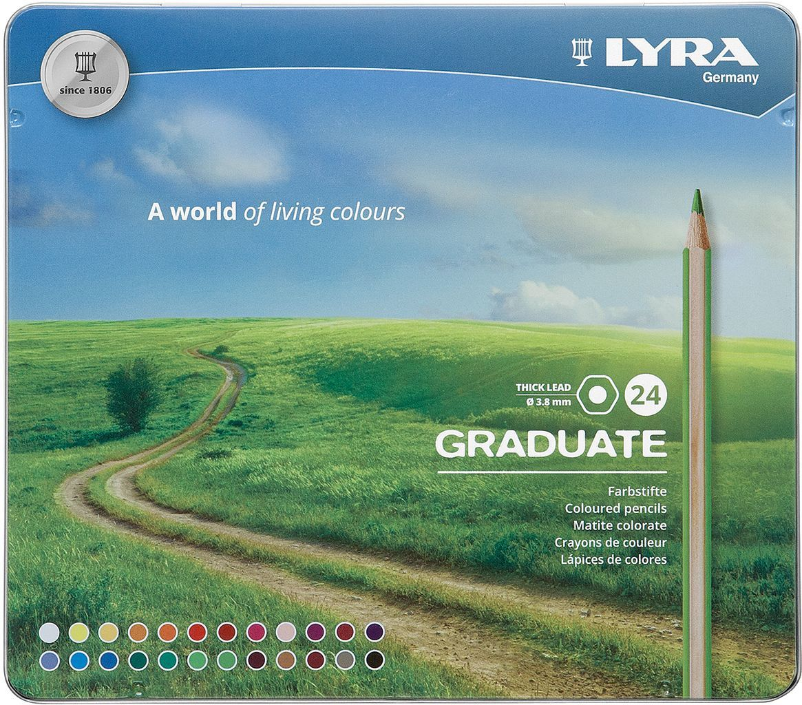 Lyra Graduate Coloured Pencil Set of 24