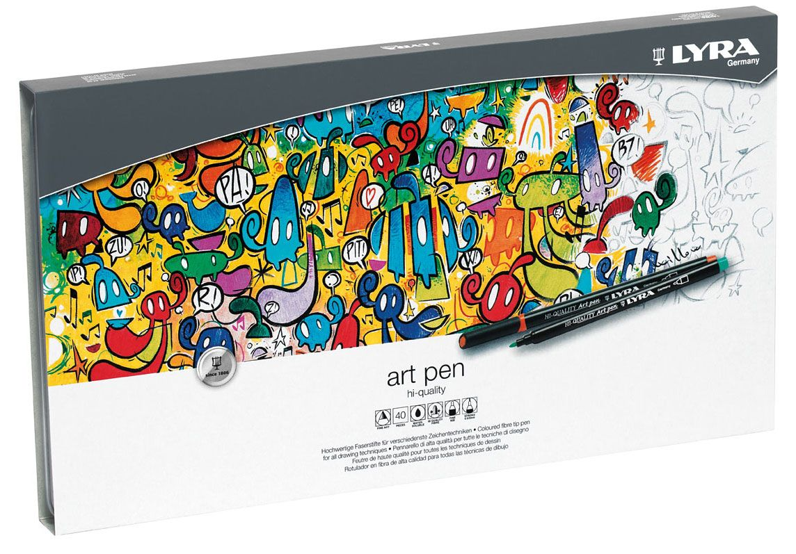Lyra Art Pen Set of 40
