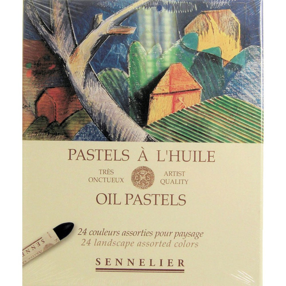 Sennelier Oil Pastels Set of 24 Landscape Colours