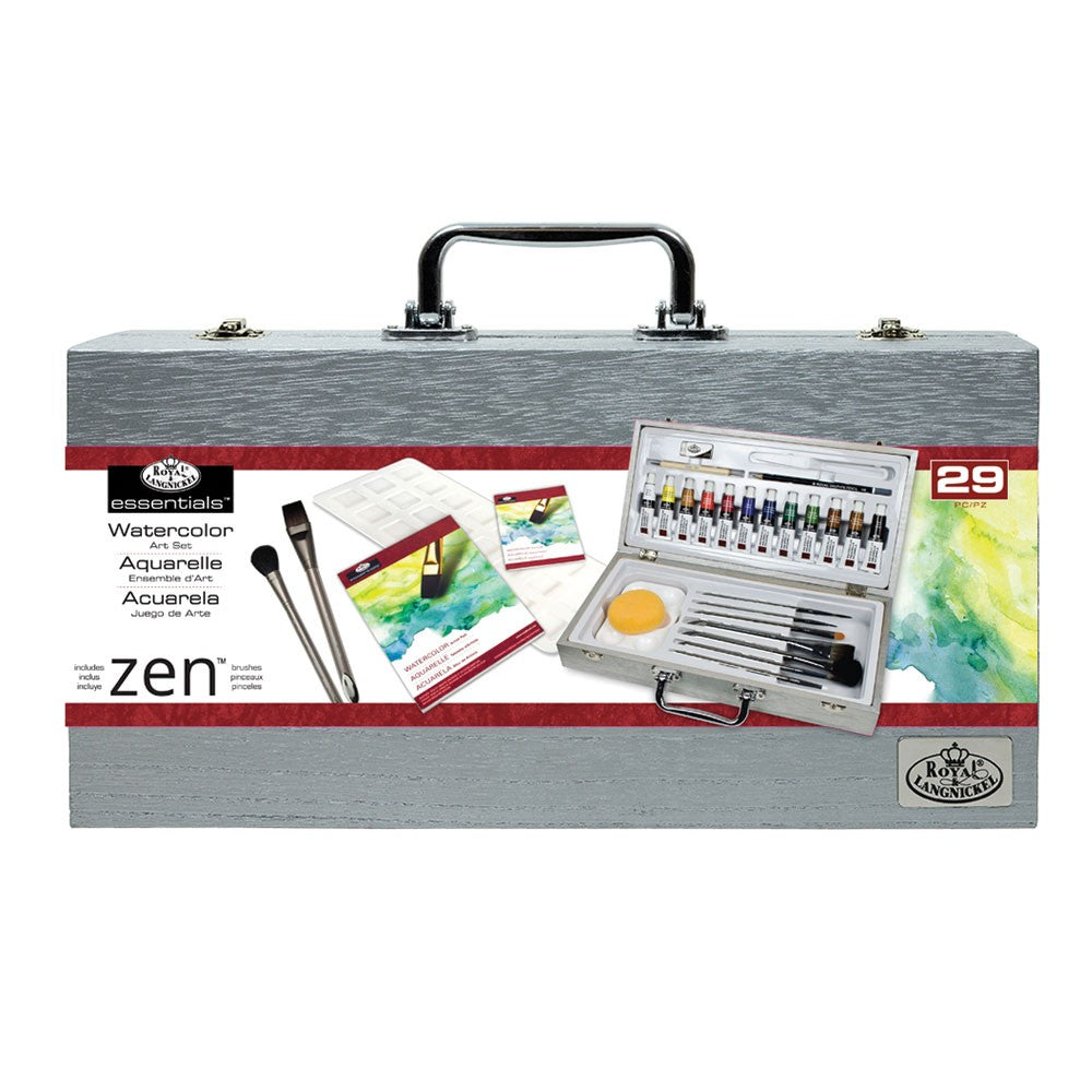 Royal & Langnickel Essentials Watercolour Brush/Paint Set