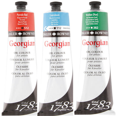 Daler Rowney Georgian Oil Colour Tubes - 225ml