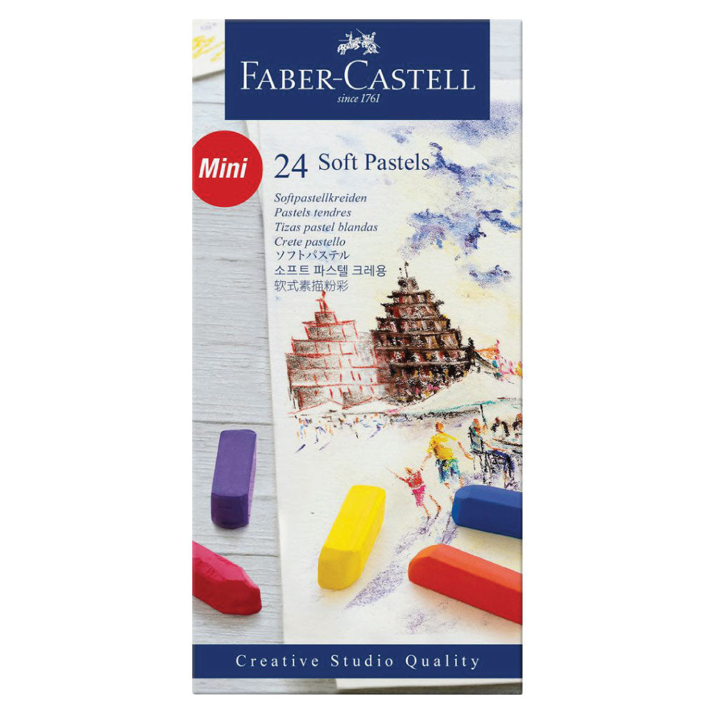 Faber-Castell Mini Soft Pastel Sets