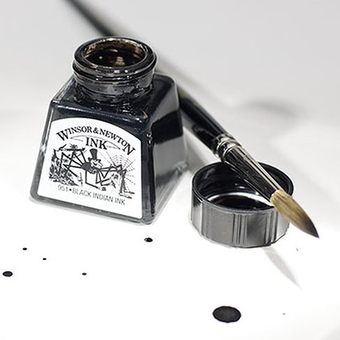 Winsor & Newton Drawing Inks Individual Colours - 14ml Bottles
