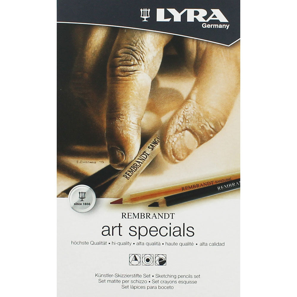 Lyra Rembrandt Art Specials Sketching Pencils Set