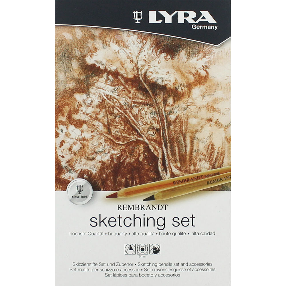 Lyra Rembrandt Sketching Pencils Set and Accessories