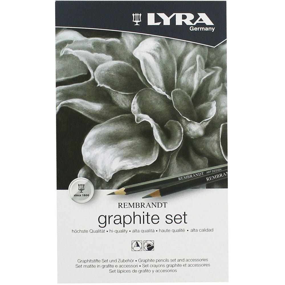 Lyra Rembrandt Graphite Pencils Set and Accessories