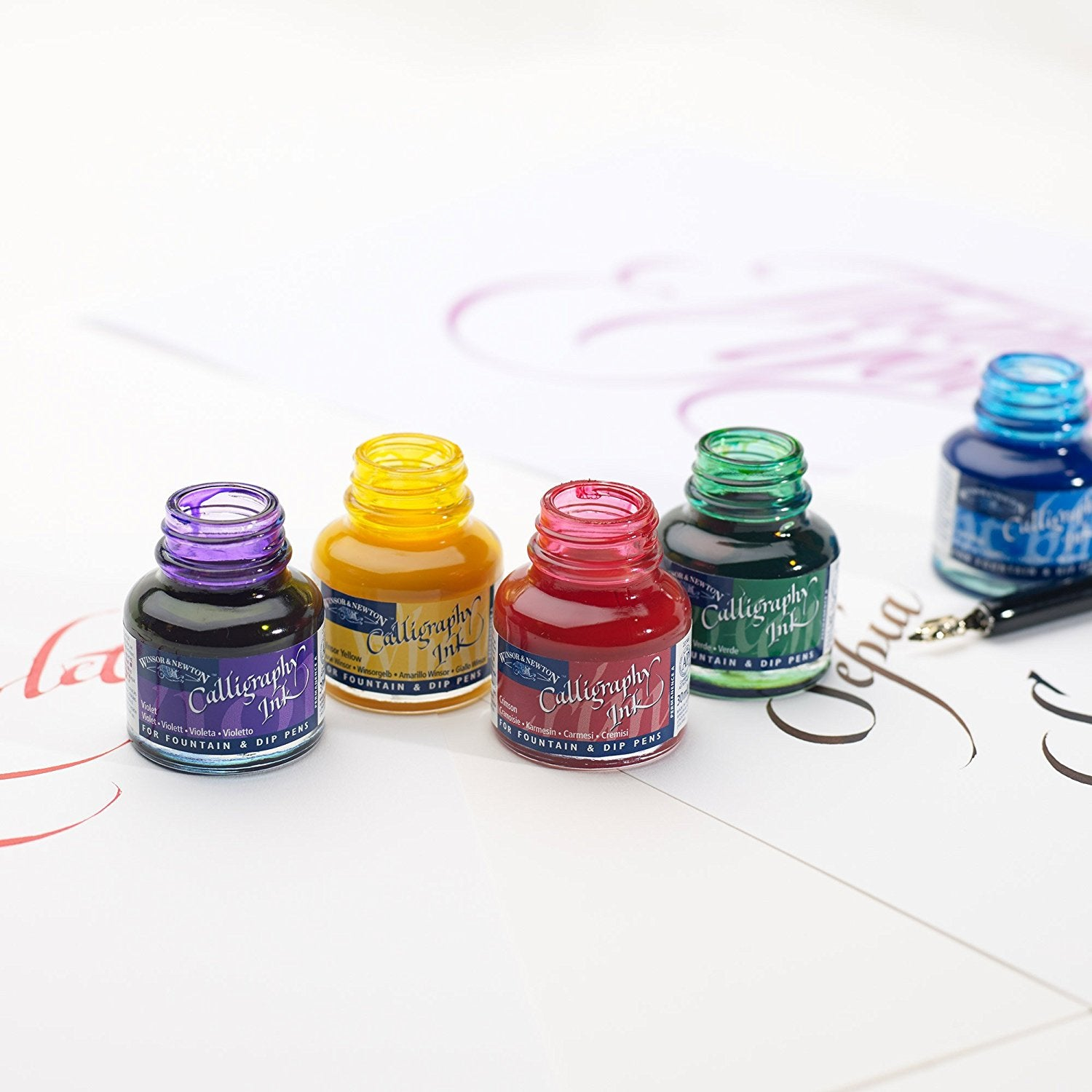 Winsor & Newton 30ml Calligraphy Inks
