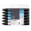 Winsor & Newton Promarker Set of 6 - Skyscape 1 - (New)