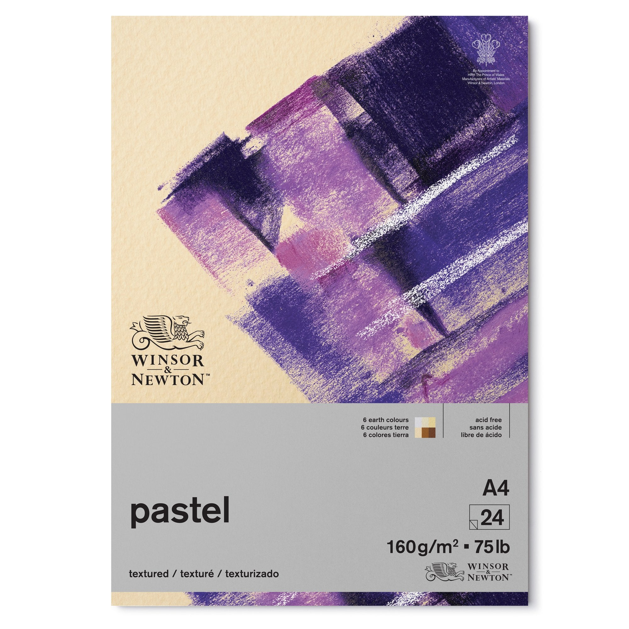 NEW - Winsor & Newton Pastel Pad EARTH COLOURS - 160gms