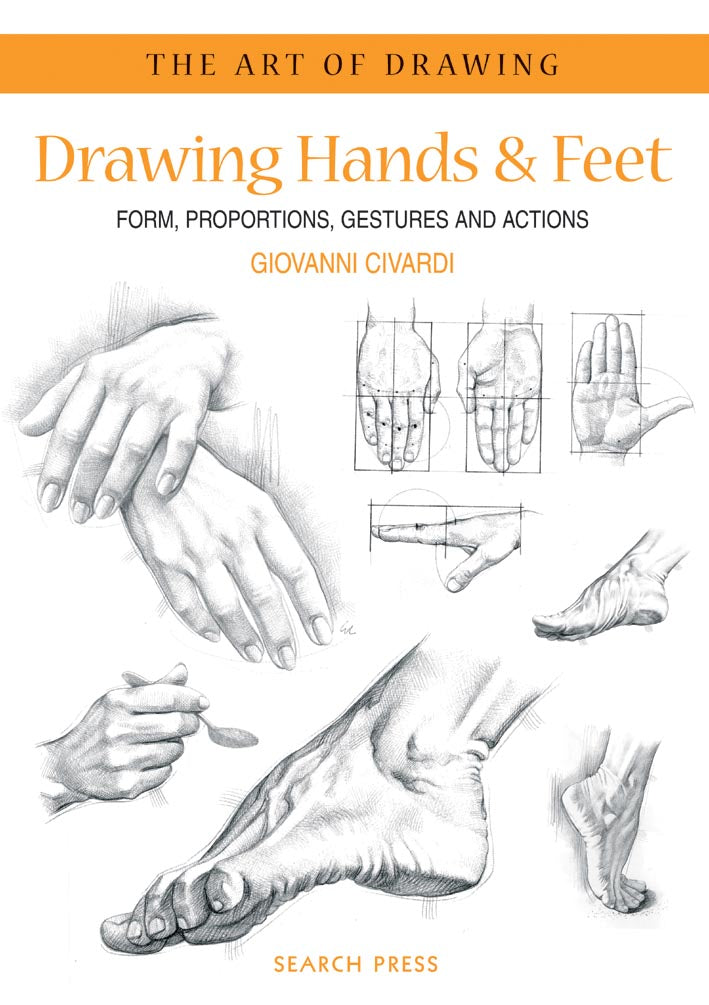 Drawing Hands and Feet - by Giovanni Civardi