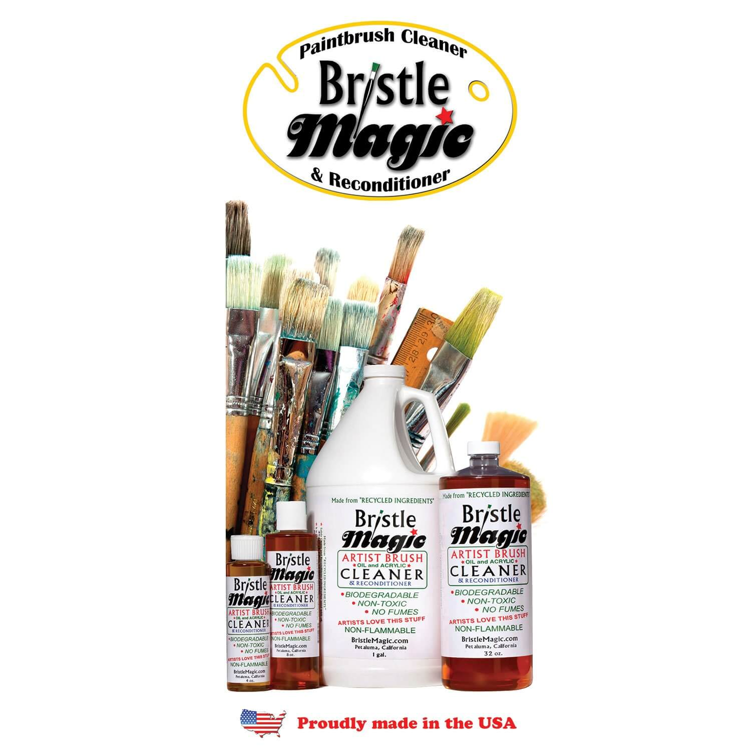 Bristle Magic Brush Cleaner & Reconditioner