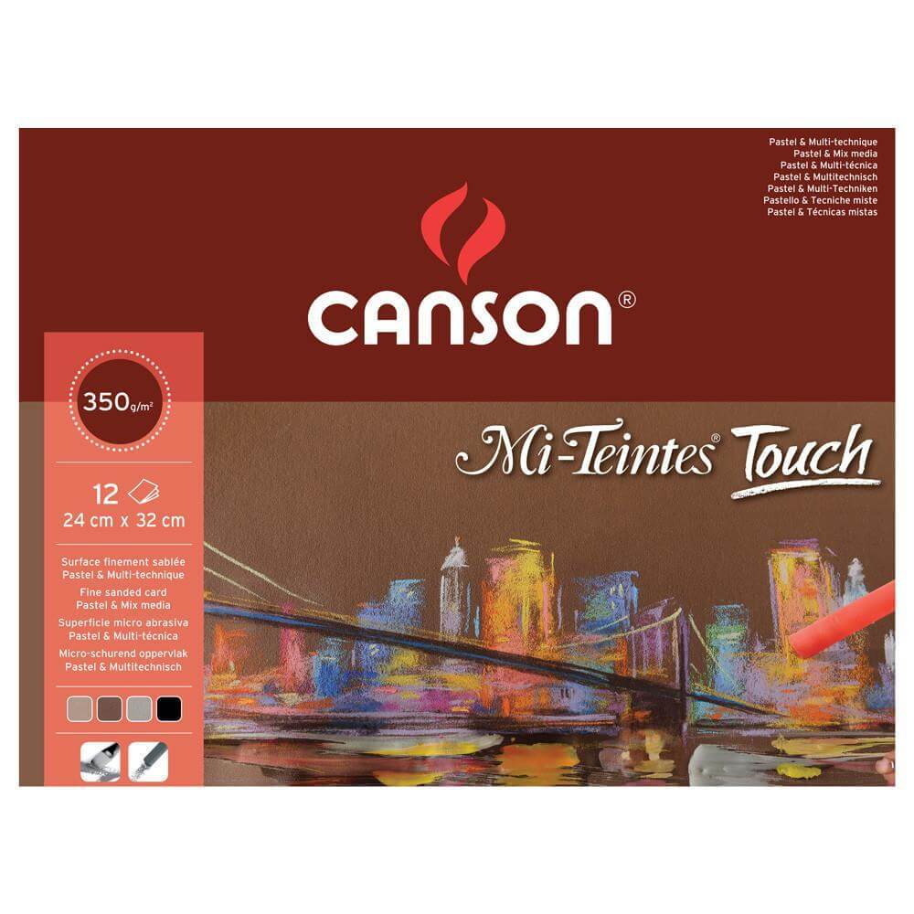 Canson Mi-Teintes Touch Pastel Pads - 350gsm