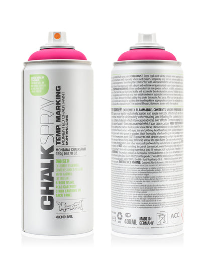 Montana spray Cans 400ml - Chalk Sprays
