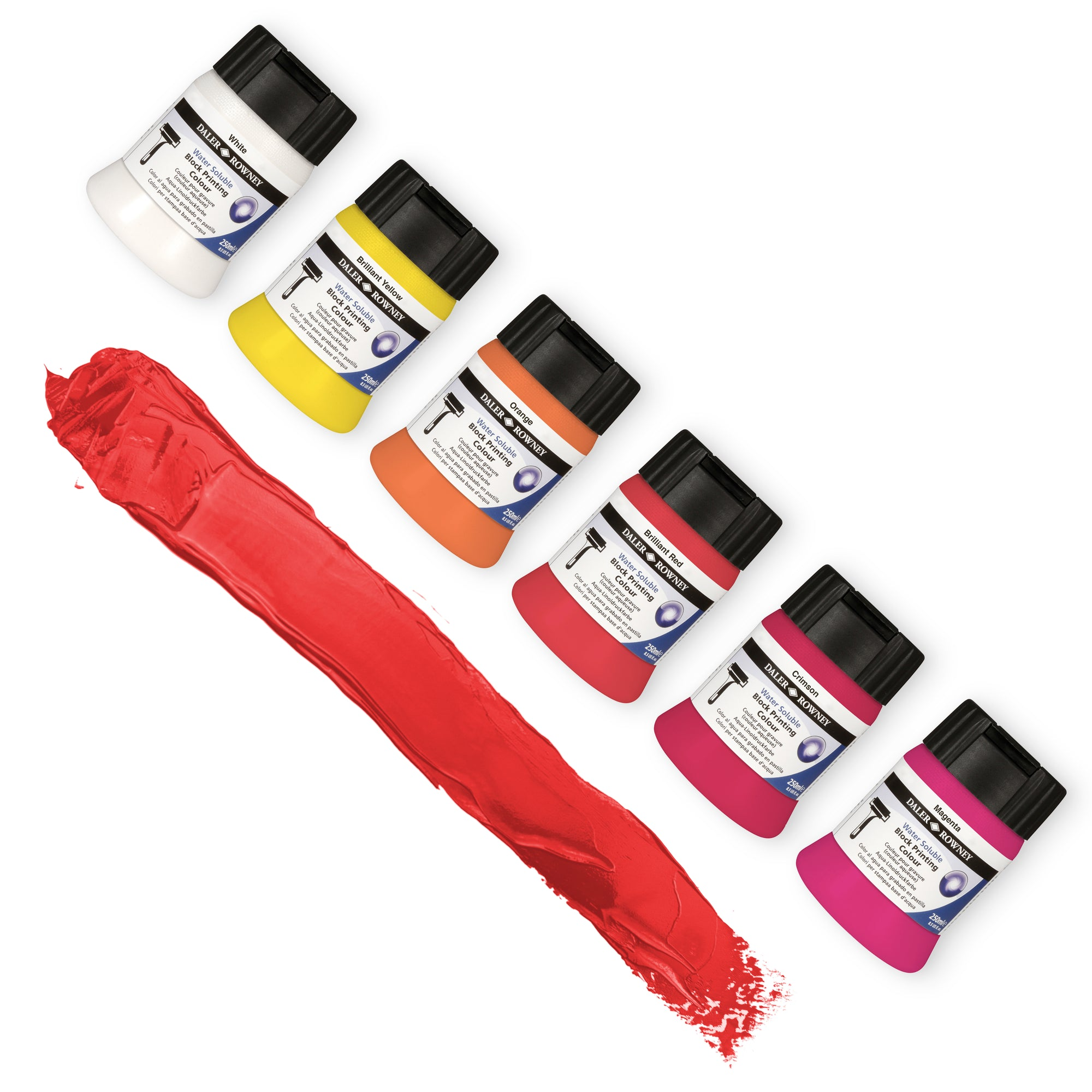 Daler-Rowney Block Printing Colours 250ml Pots