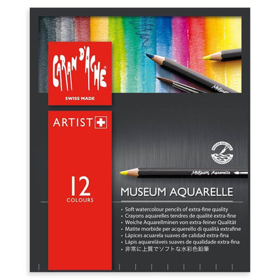 Caran d'Ache Museum Aquarelle Pencils - Assorted Sets