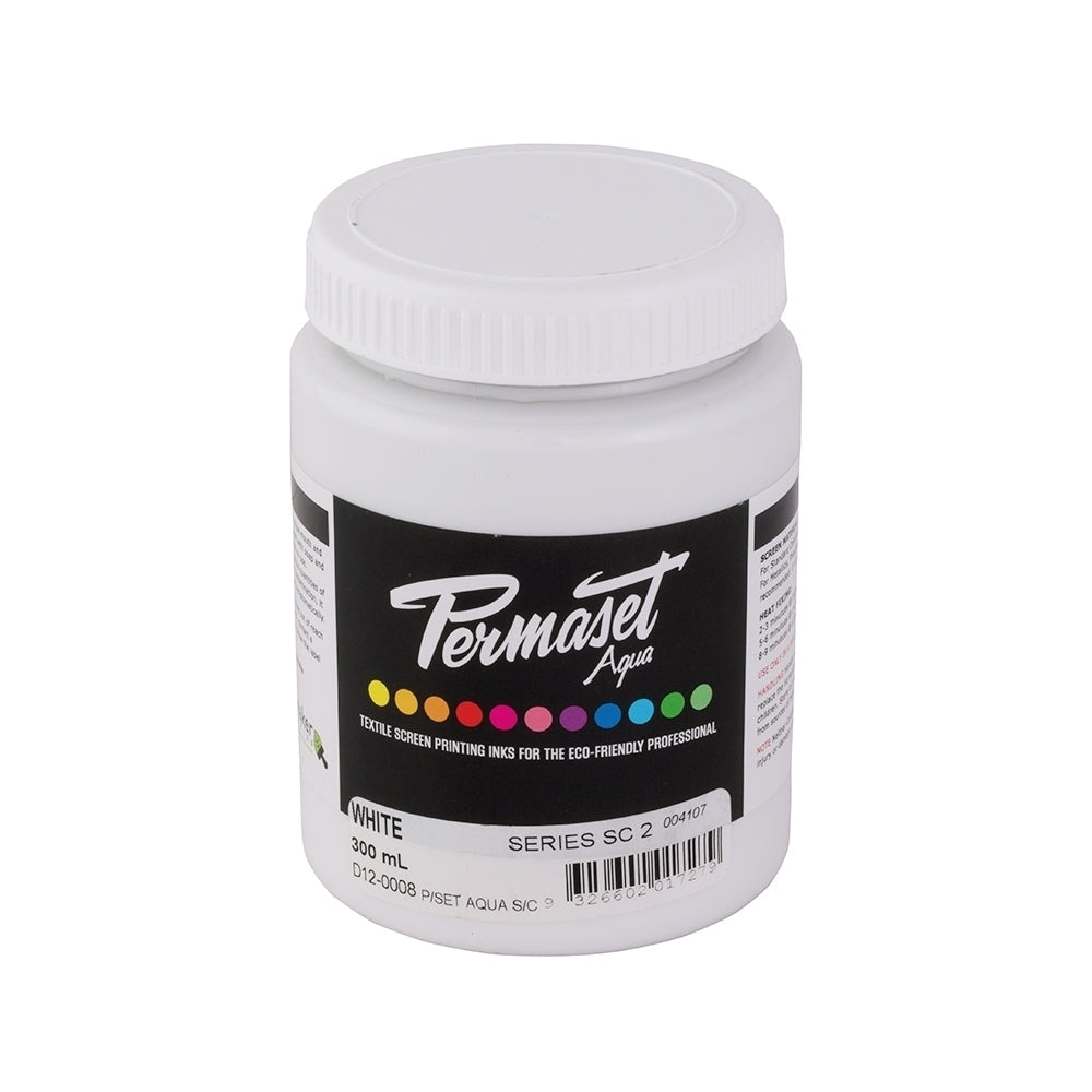 Permaset Aqua Supercover Screen Printing Ink - 300ml