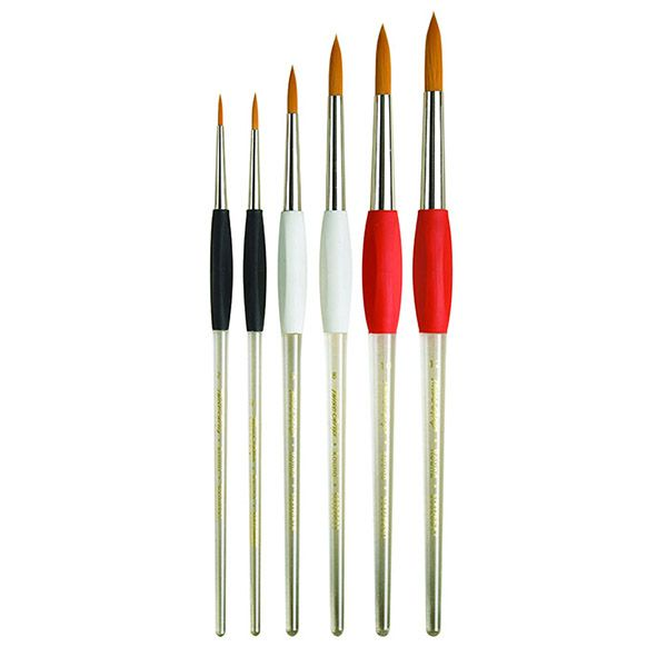 Pro Arte TwistGrip Brushes - Rounds