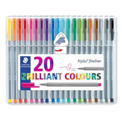Sets of Triplus Fineliners 0.3mm