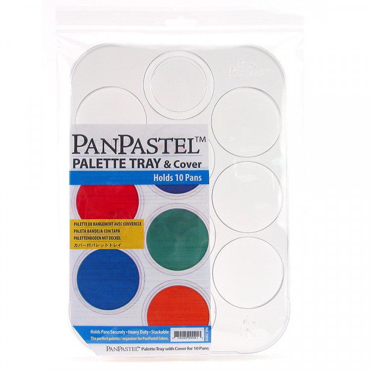 Pan Pastel - Palette/Tray with Lid - Holds 10 Colours