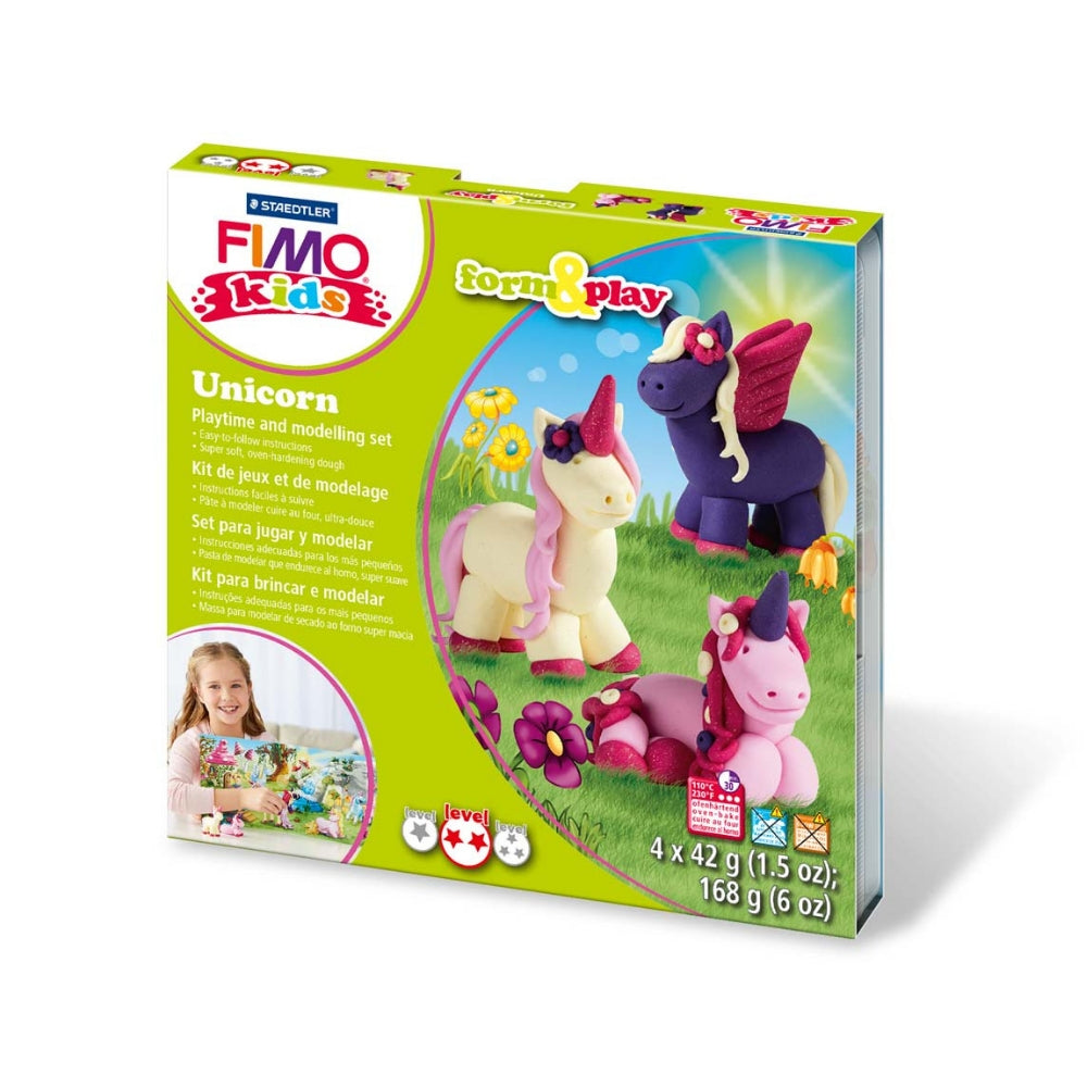 Staedtler Fimo Kids Form & Play Set - Unicorn