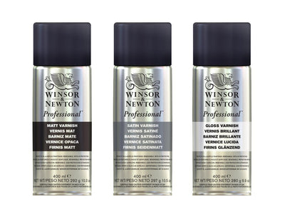 Winsor & Newton Professional Picture Varnish 400ml - (Aerosol)