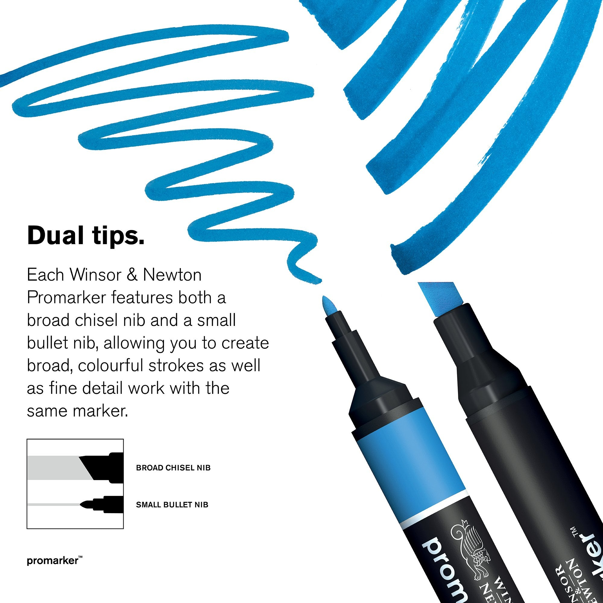 Winsor & Newton Promarker (A to O)