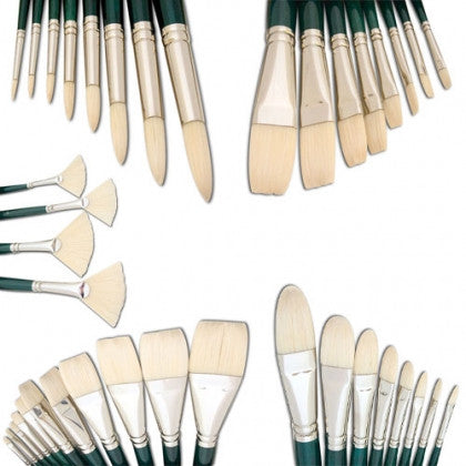 Winton Long Handled Hog Brushes